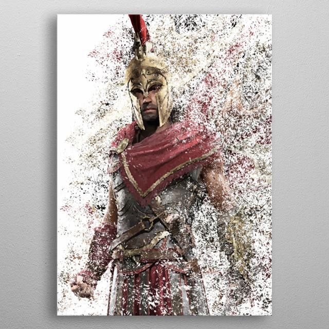 Alexios 2 metal poster