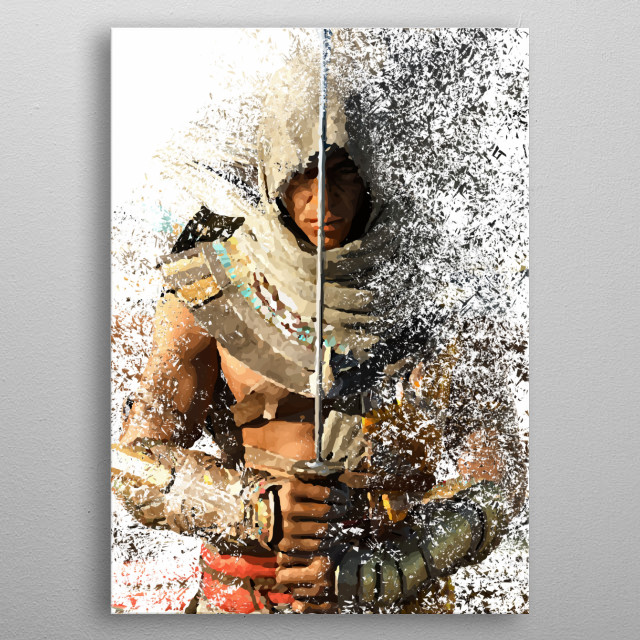 Fascinating metal poster designed by Leonard Mendoza. Displate has a unique signature and hologram on the back to add authenticity to each design. metal poster