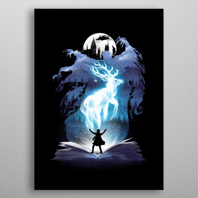 The 3rd Book of Magic metal poster