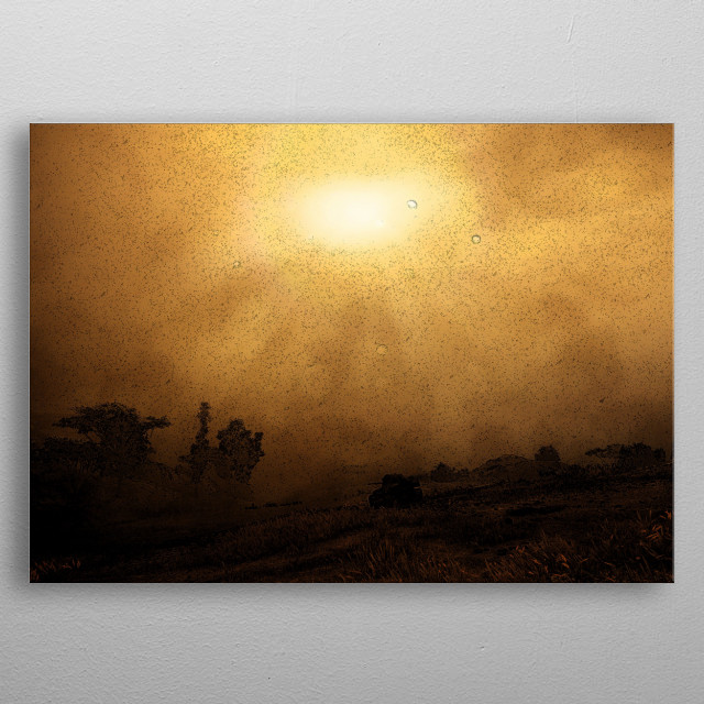 High-quality metal print from amazing Tanks collection will bring unique style to your space and will show off your personality. metal poster