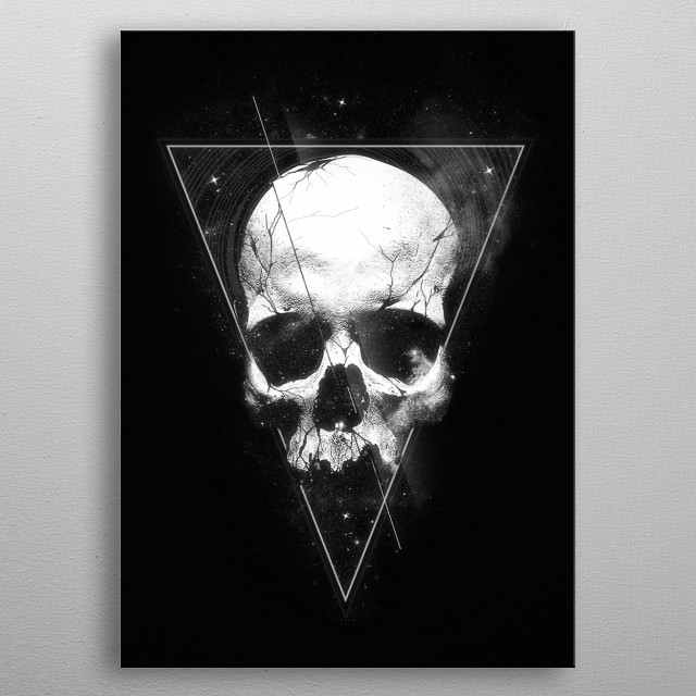 We Are All Made of Stars metal poster