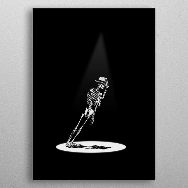 Anti Gravity metal poster