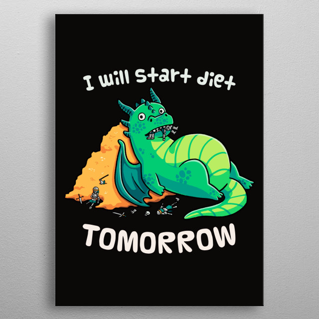 Tomorrow is a New Day metal poster