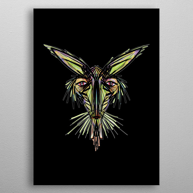 High-quality metal print from amazing Illustration Designs collection will bring unique style to your space and will show off your personality. metal poster