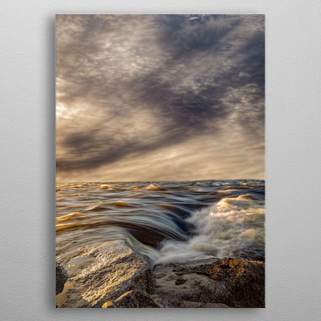 This marvelous metal poster designed by Orsillo to add authenticity to your place. Display your passion to the whole world. metal poster