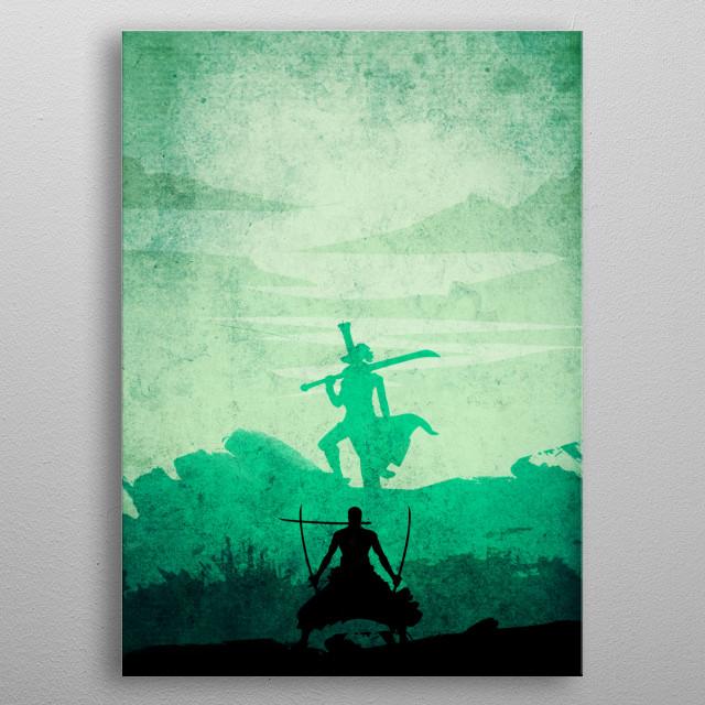 Best Swordman metal poster