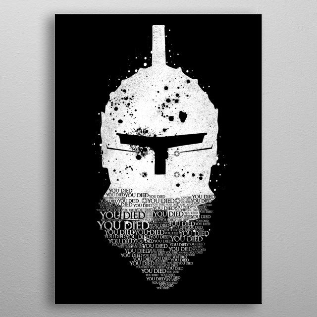 Lonesome Knight metal poster