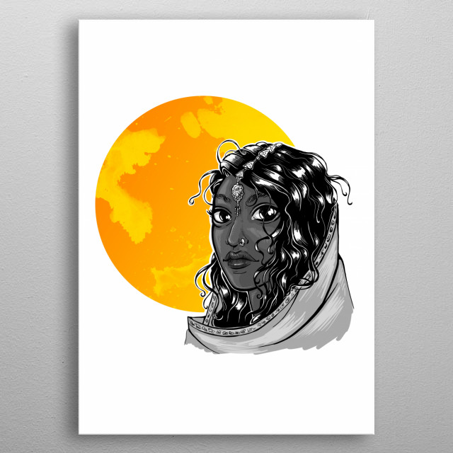 Fascinating metal poster designed by Elisabeth Gschaider. Displate has a unique signature and hologram on the back to add authenticity to each design. metal poster