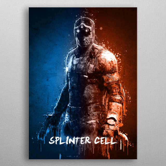 Splinter Cell metal poster
