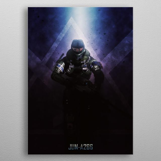 Jun metal poster
