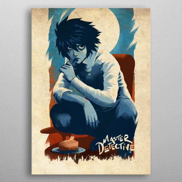 A Master Detective metal poster