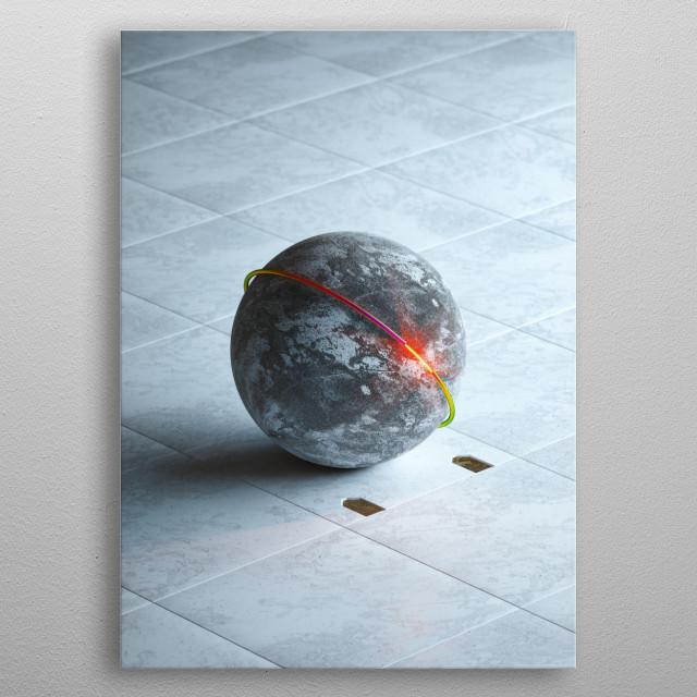 Baller metal poster