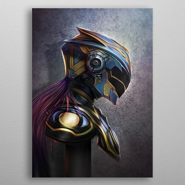 Fascinating  metal poster designed with love by andreboulard1. Decorate your space with this design & find daily inspiration in it. metal poster