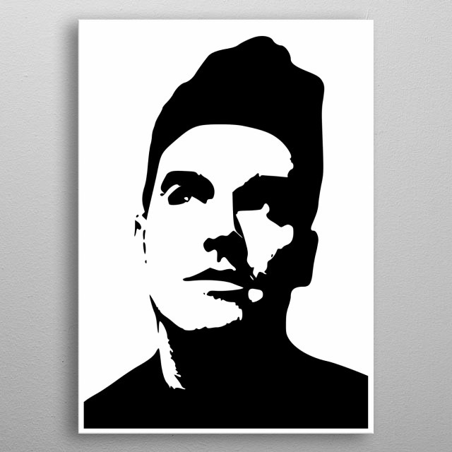 Morrissey The Smiths 80's metal poster