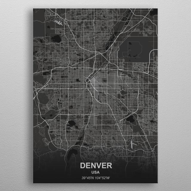 Denver - USA metal poster