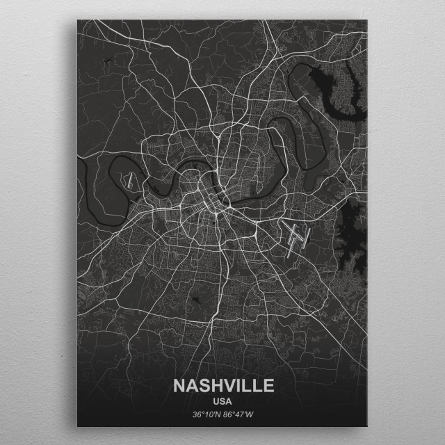 Nashville - USA metal poster