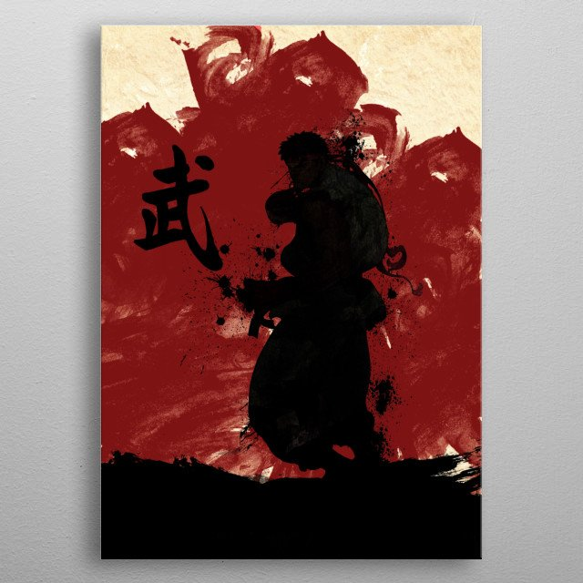 This marvelous metal poster designed by anmkaizoku to add authenticity to your place. Display your passion to the whole world. metal poster