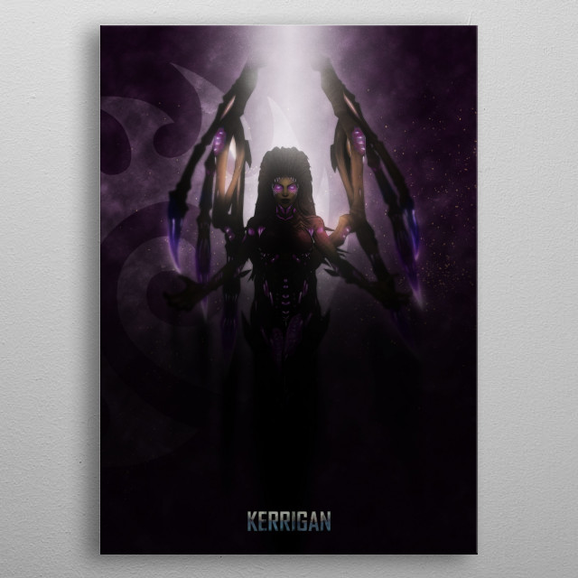 Alien Queen metal poster