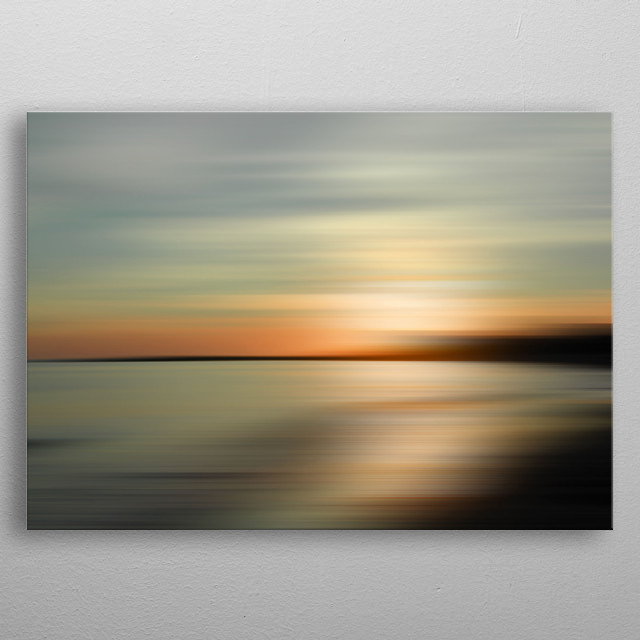 High-quality metal print from amazing Anglesey Seascapes collection will bring unique style to your space and will show off your personality. metal poster