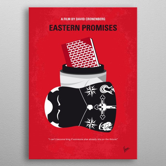 No969 My Eastern Promises  metal poster