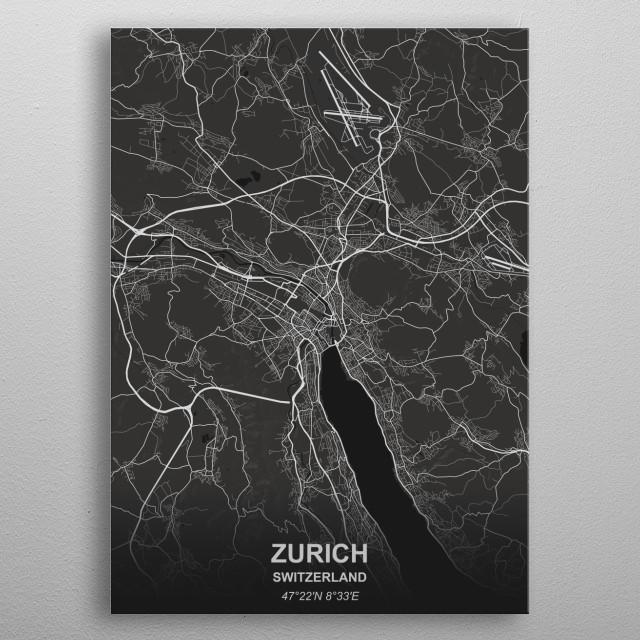 Zurich metal poster