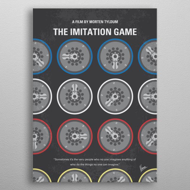 No972 The Imitation Game metal poster
