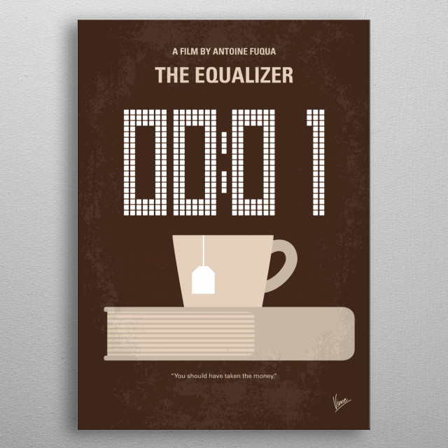 No973 My THE EQUALIZER metal poster