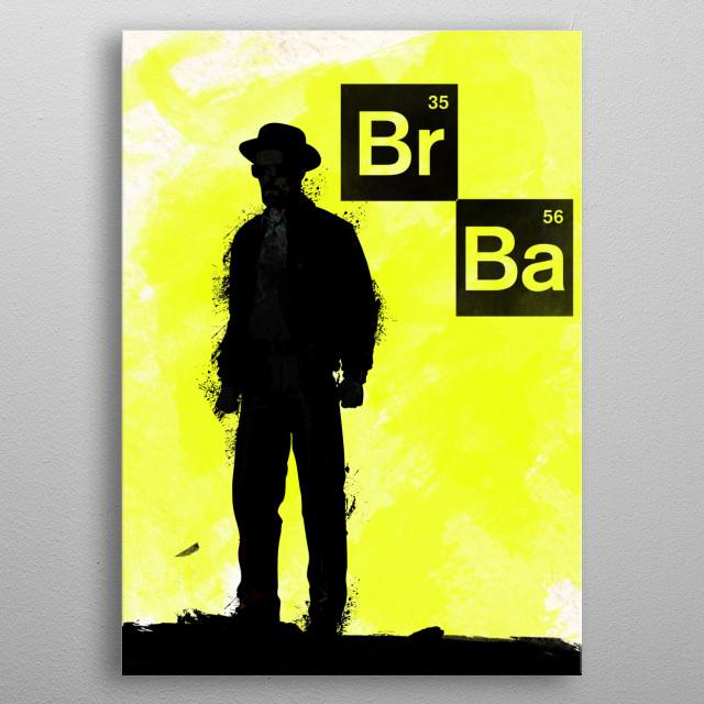 Walter White metal poster