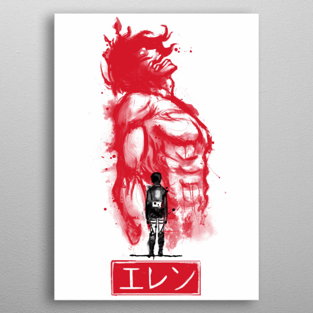 Fascinating metal poster designed by Nathan Jones. Displate has a unique signature and hologram on the back to add authenticity to each design. metal poster