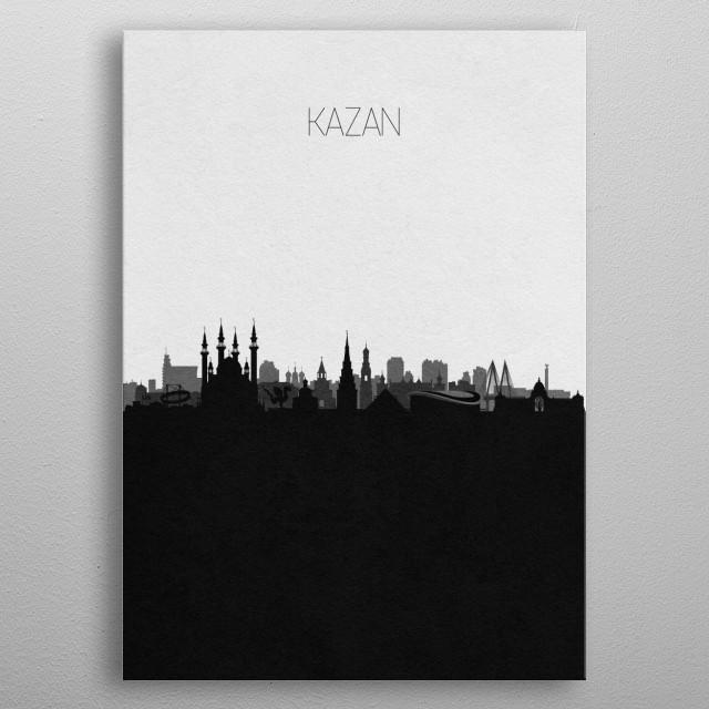 Destination: Kazan metal poster