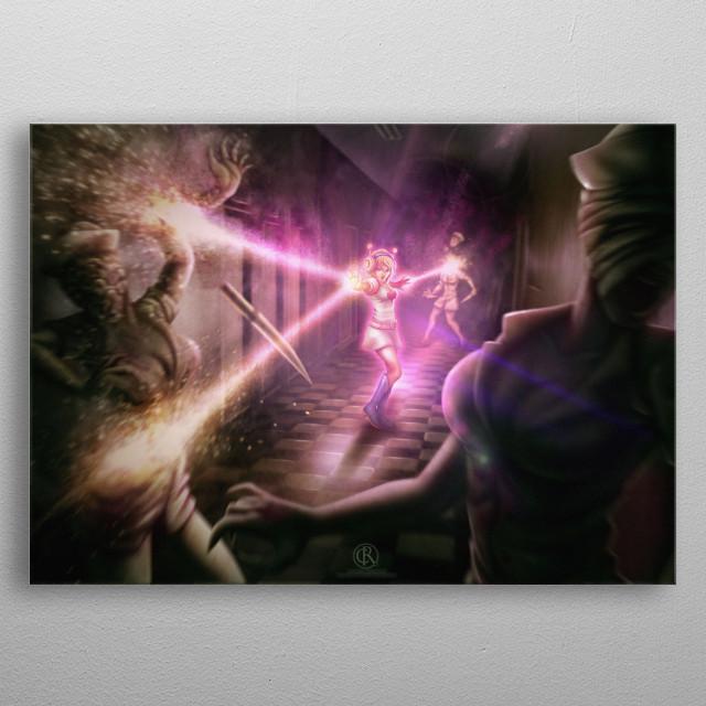 Heart princess metal poster
