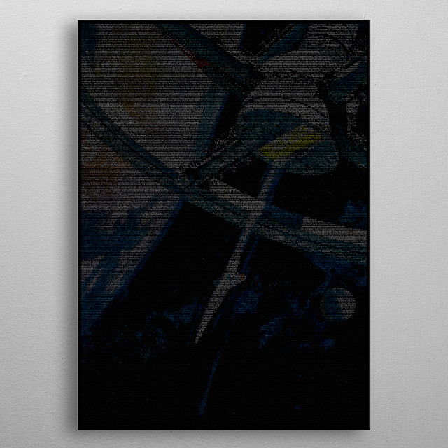 High-quality metal print from amazing Movie Screenplay Prints collection will bring unique style to your space and will show off your personality. metal poster
