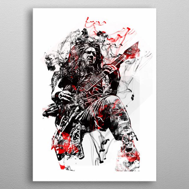 Dimebag Darrel, Pantera. metal poster