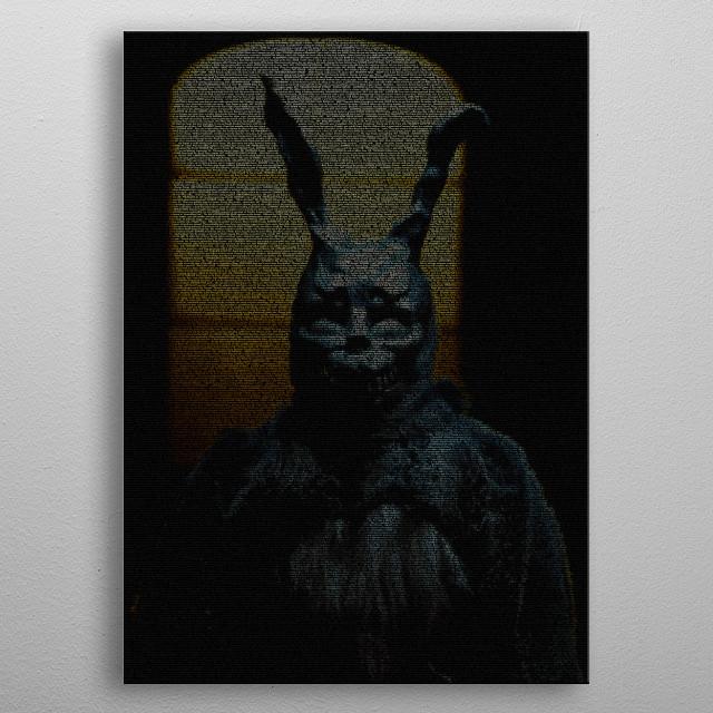 Frank: Donnie Darko Script metal poster