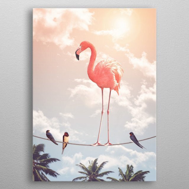 This marvelous metal poster designed by Jonas_Loose to add authenticity to your place. Display your passion to the whole world. metal poster