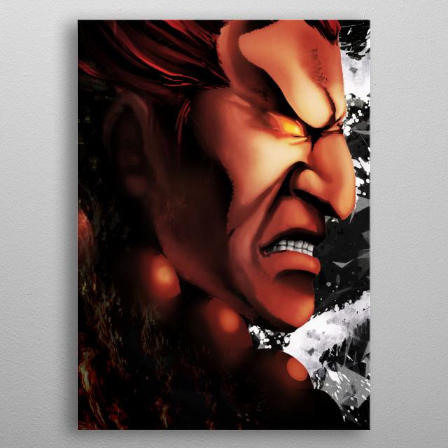 Akuma  metal poster