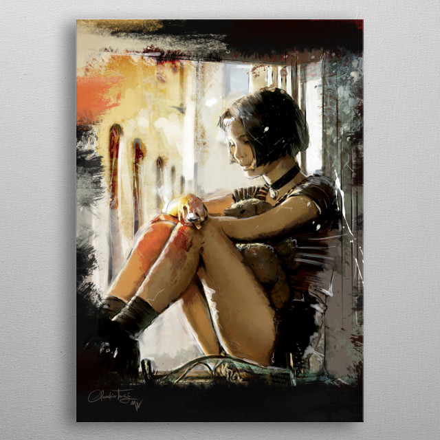 Mathilda metal poster