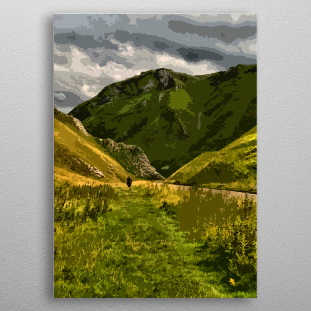 High-quality metal print from amazing Derbyshire collection will bring unique style to your space and will show off your personality. metal poster