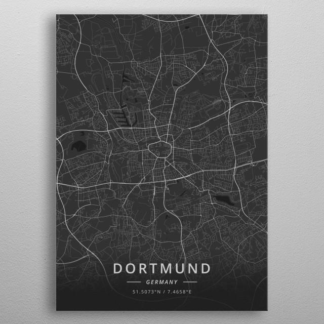 Dortmund, Germany metal poster
