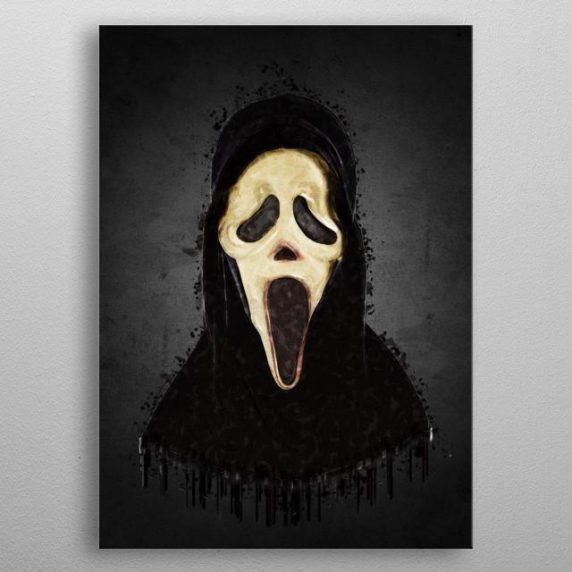 Scream metal poster