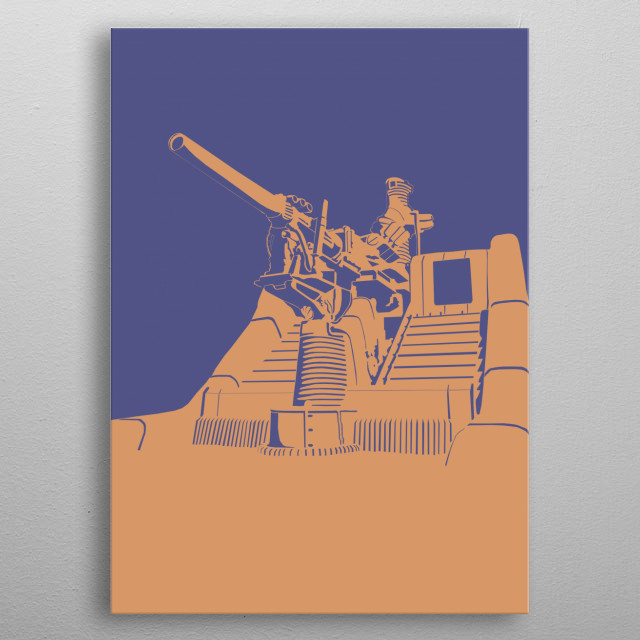 CANNON metal poster