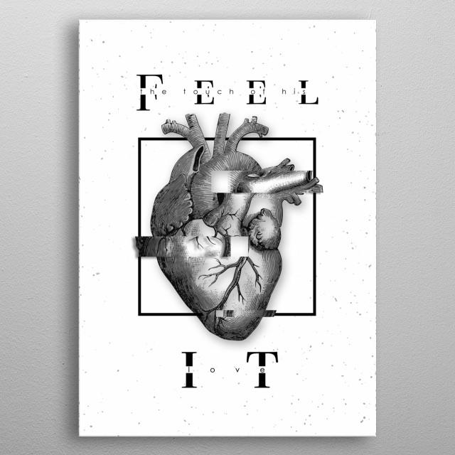 Feel it  metal poster
