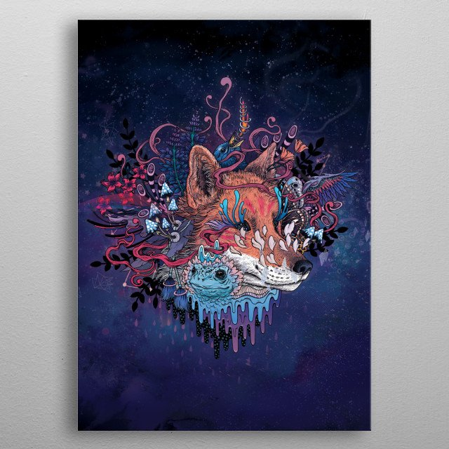 High-quality metal print from amazing Natures Spirits collection will bring unique style to your space and will show off your personality. metal poster