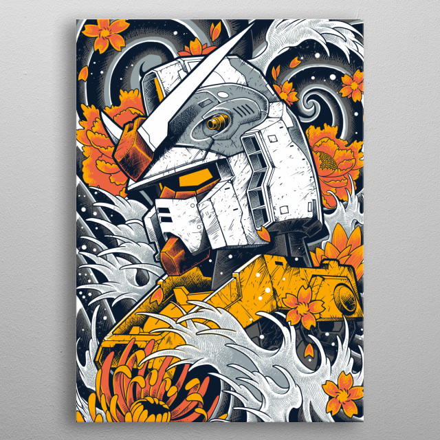 Fascinating metal poster designed by Prayudhie Arie Bimo. Displate has a unique signature and hologram on the back to add authenticity to each design. metal poster