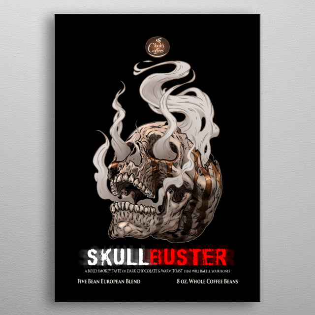 Fascinating  metal poster designed with love by thedarkcloak. Decorate your space with this design & find daily inspiration in it. metal poster