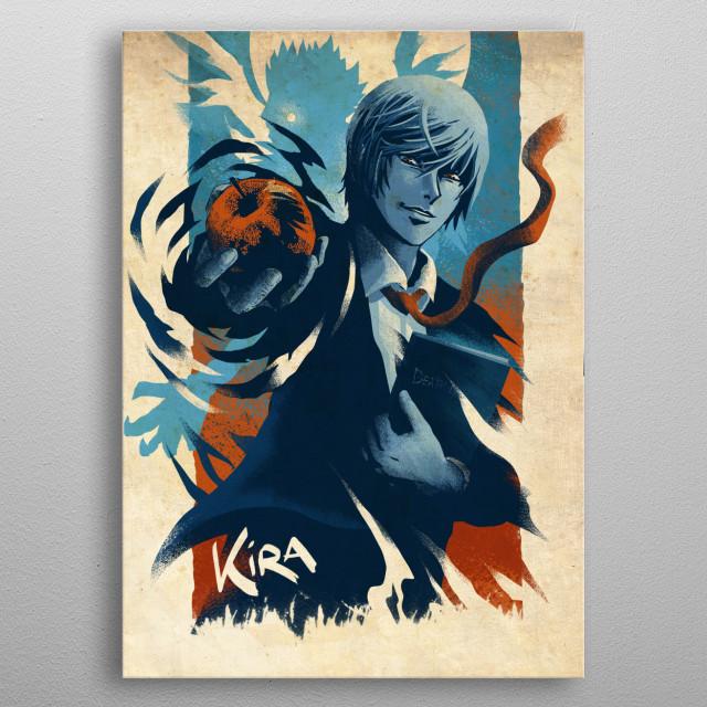 The First Kira metal poster