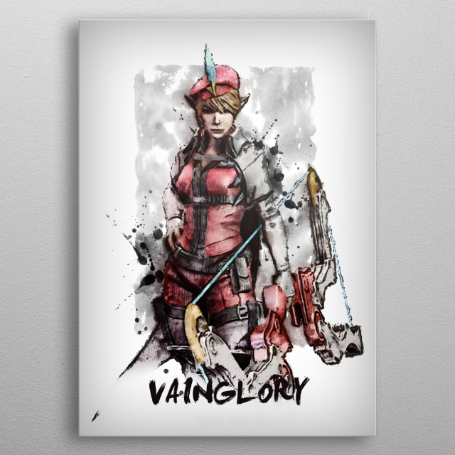 VainGlory  metal poster