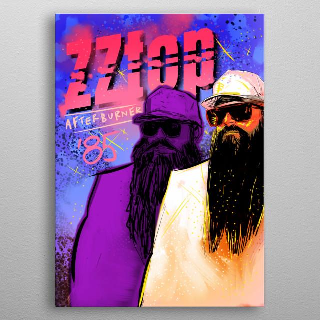 print on metal metal poster