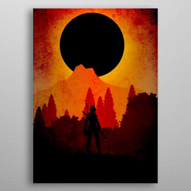 Shadow of the tomb raider metal poster