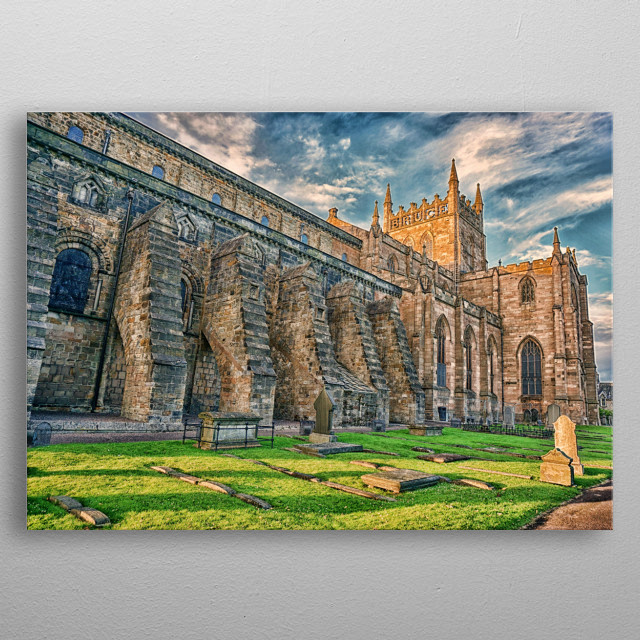 Dunfermline Abbey metal poster
